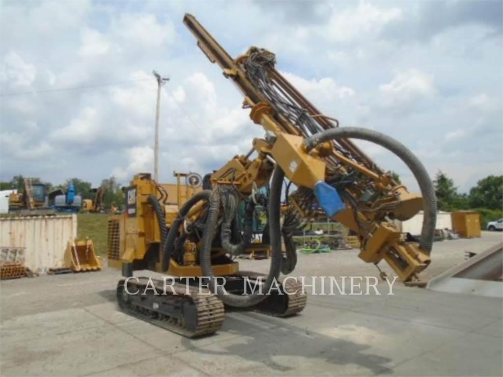 Caterpillar MD5050, Perforadoras, Construcción