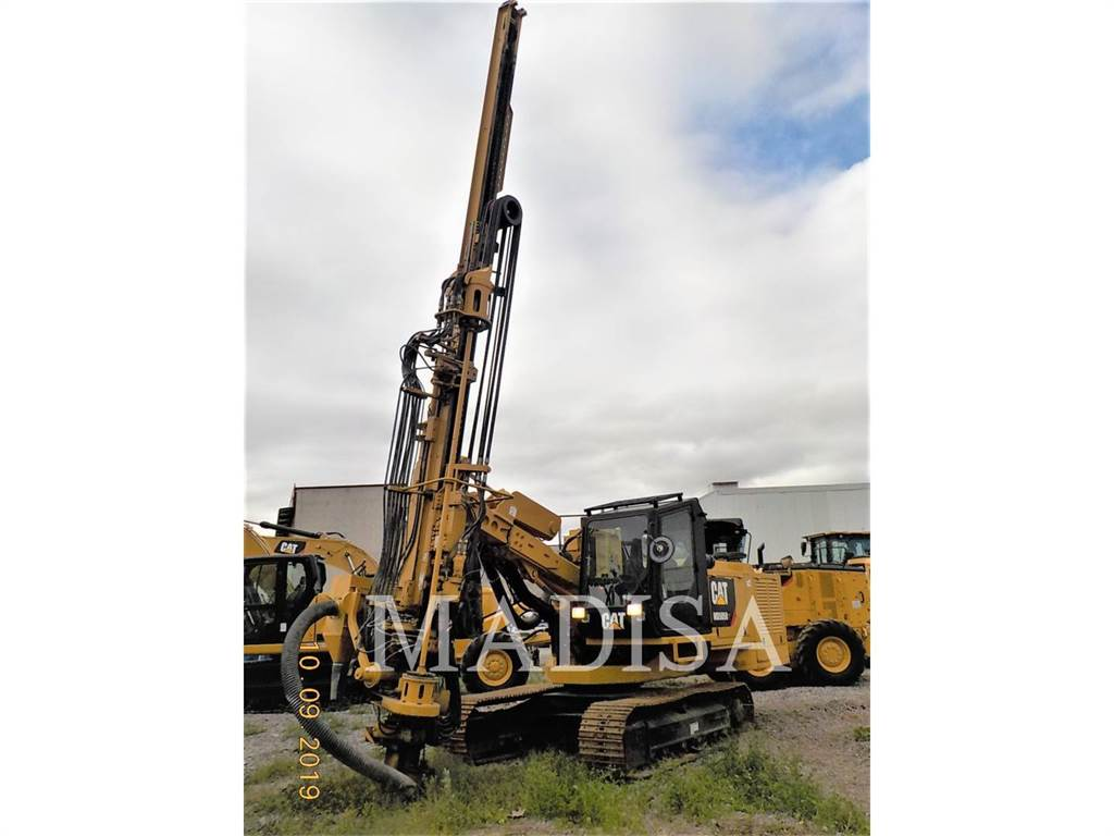 Caterpillar MD5050T, Surface drill rigs, Construction