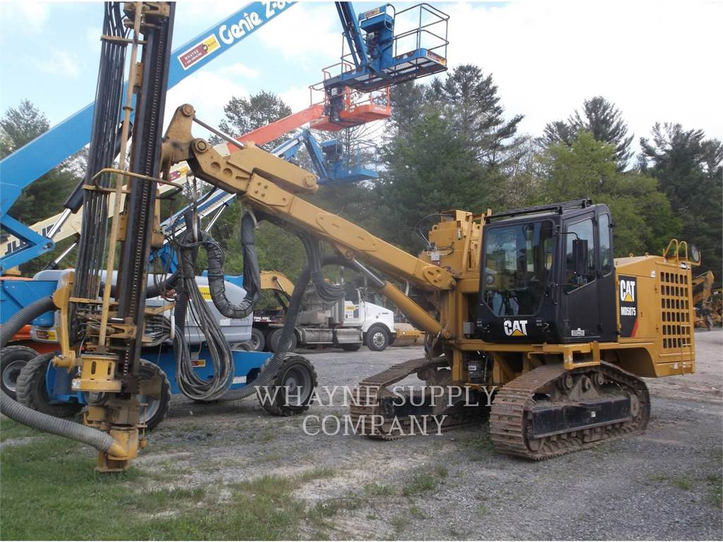 Caterpillar MD5075, Zware boorinstallaties, Bouw