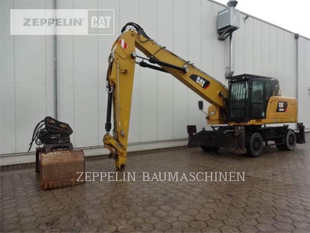 Caterpillar MH3022, wheel excavator, Construction