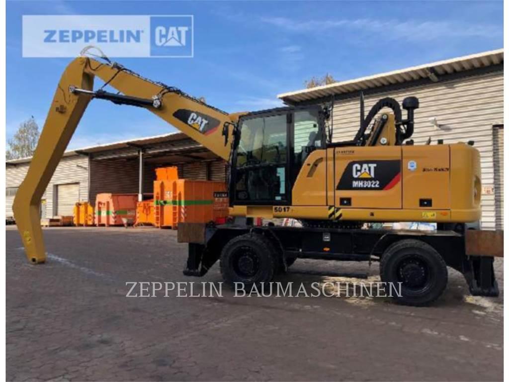 Caterpillar MH3022, pelles sur pneus, Équipement De Construction