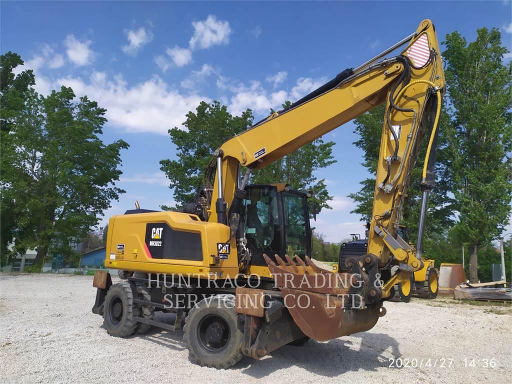 Caterpillar MH3022, escavadeiras de rodas, Equipamentos Construção