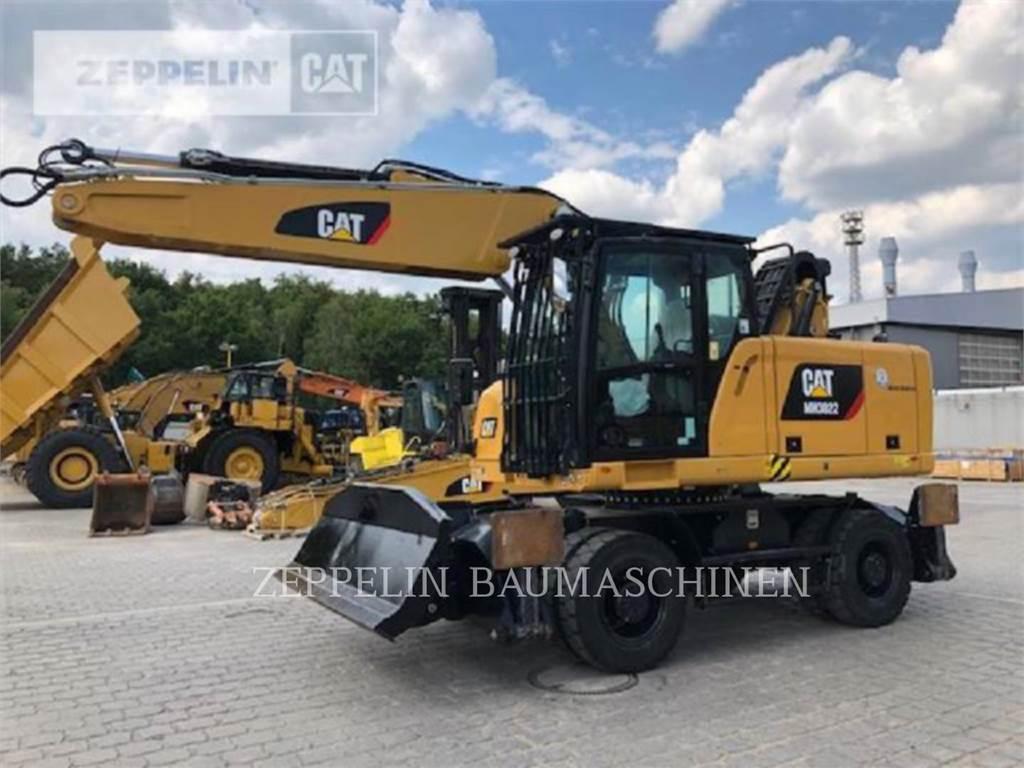 Caterpillar MH3022-06C, excavadoras de ruedas, Construcción