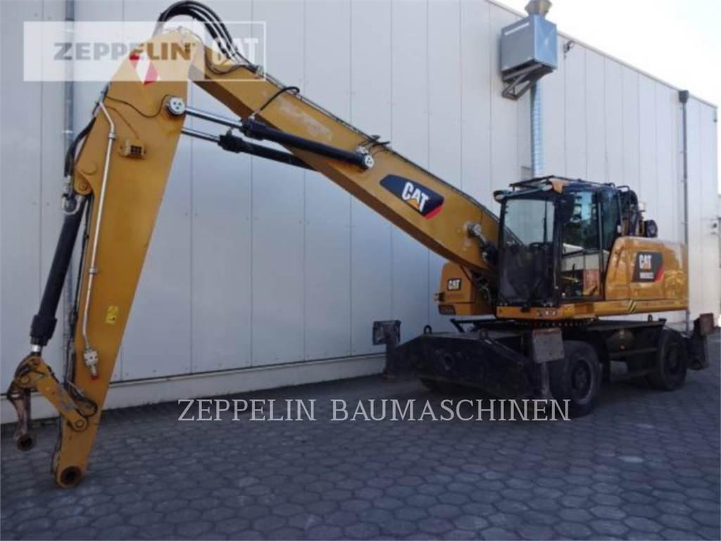 Caterpillar MH3022, koparki kołowe, Sprzęt budowlany