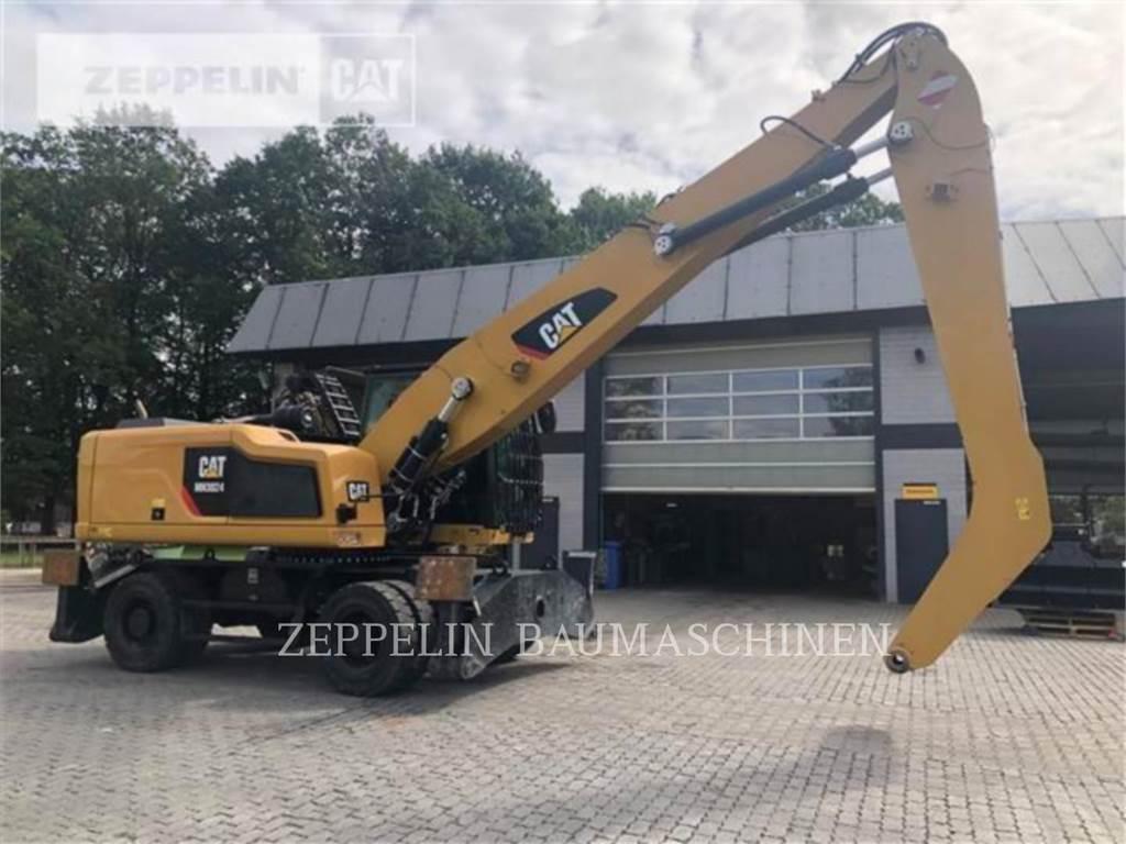 Caterpillar MH3024, колесные экскаваторы, Строительное