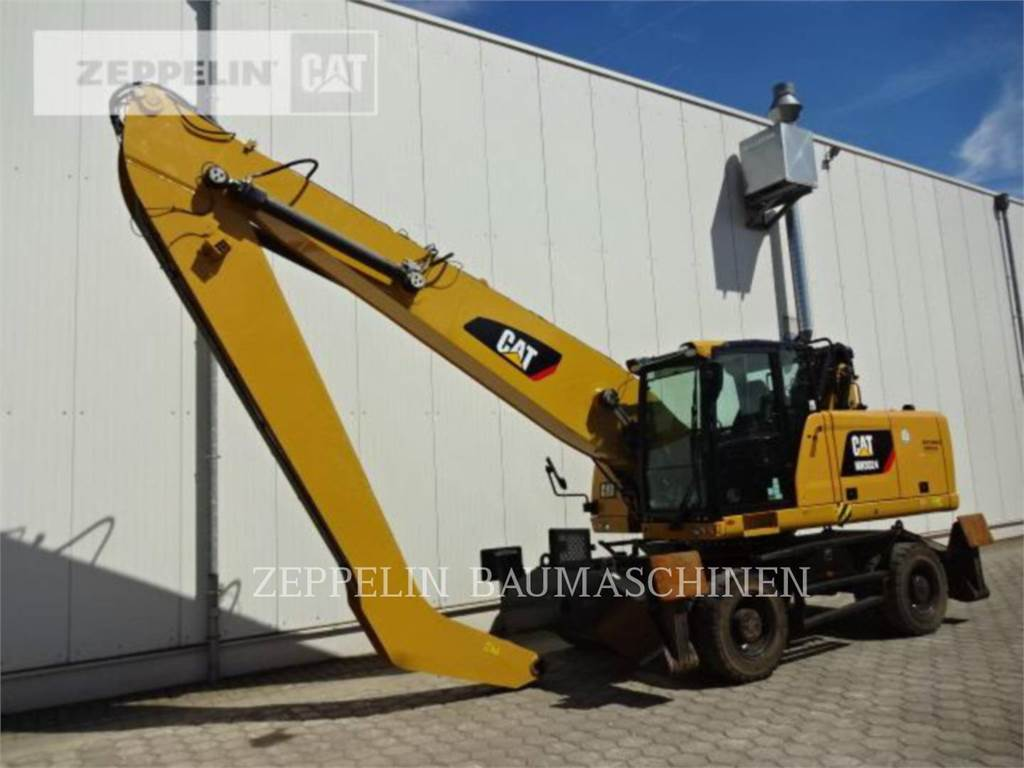 Caterpillar MH3024, wheel excavator, Construction