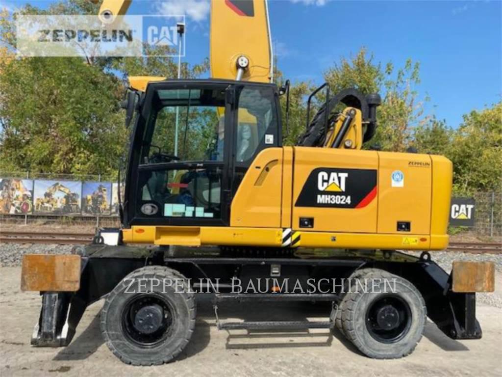 Caterpillar MH3024-06C, pelles sur pneus, Équipement De Construction