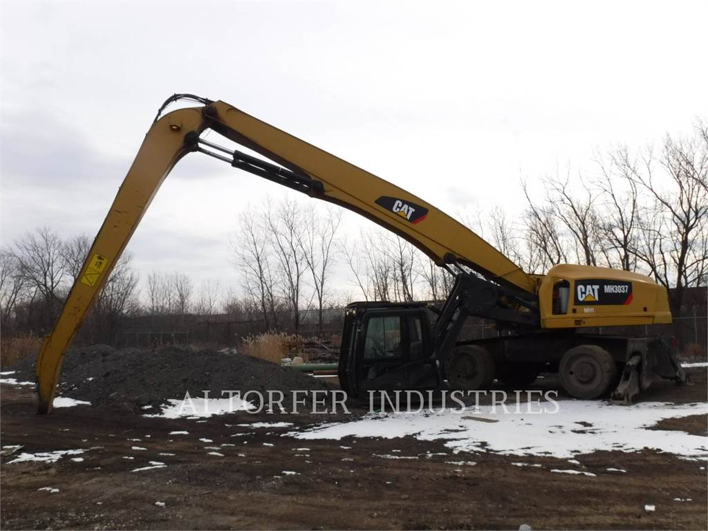 Caterpillar MH3037, wheel excavator, Construction