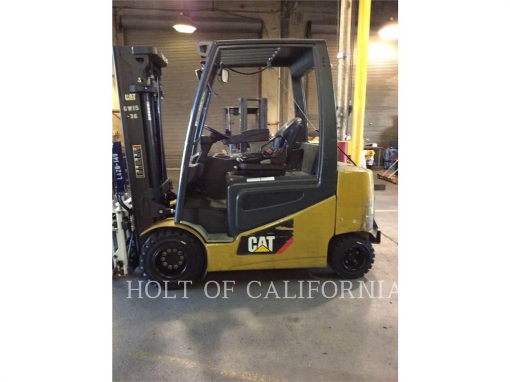 Caterpillar MITSUBISHI 2EP6500, Electric Forklifts, Material Handling