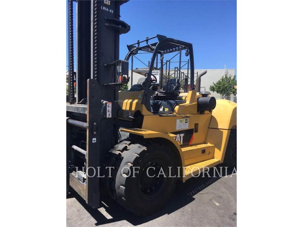 Caterpillar MITSUBISHI DP150N, Chariots diesel, Manutention