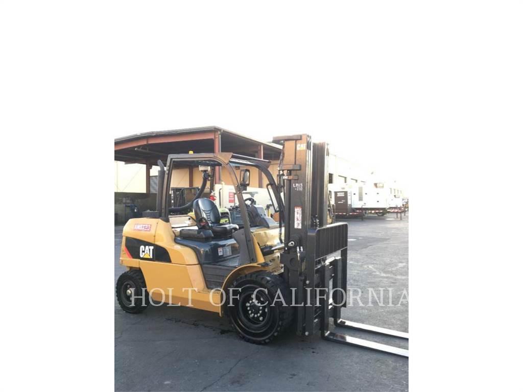 Caterpillar MITSUBISHI DP50CN, Diesel Stapler, Flurförderzeuge