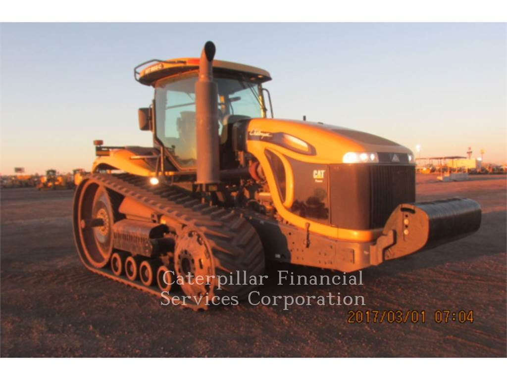 Caterpillar MT855C、農業用トラクタ、農業