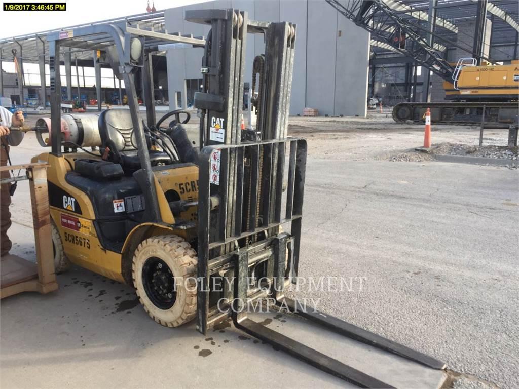 Caterpillar P5000, material handlers / demolition, Construction