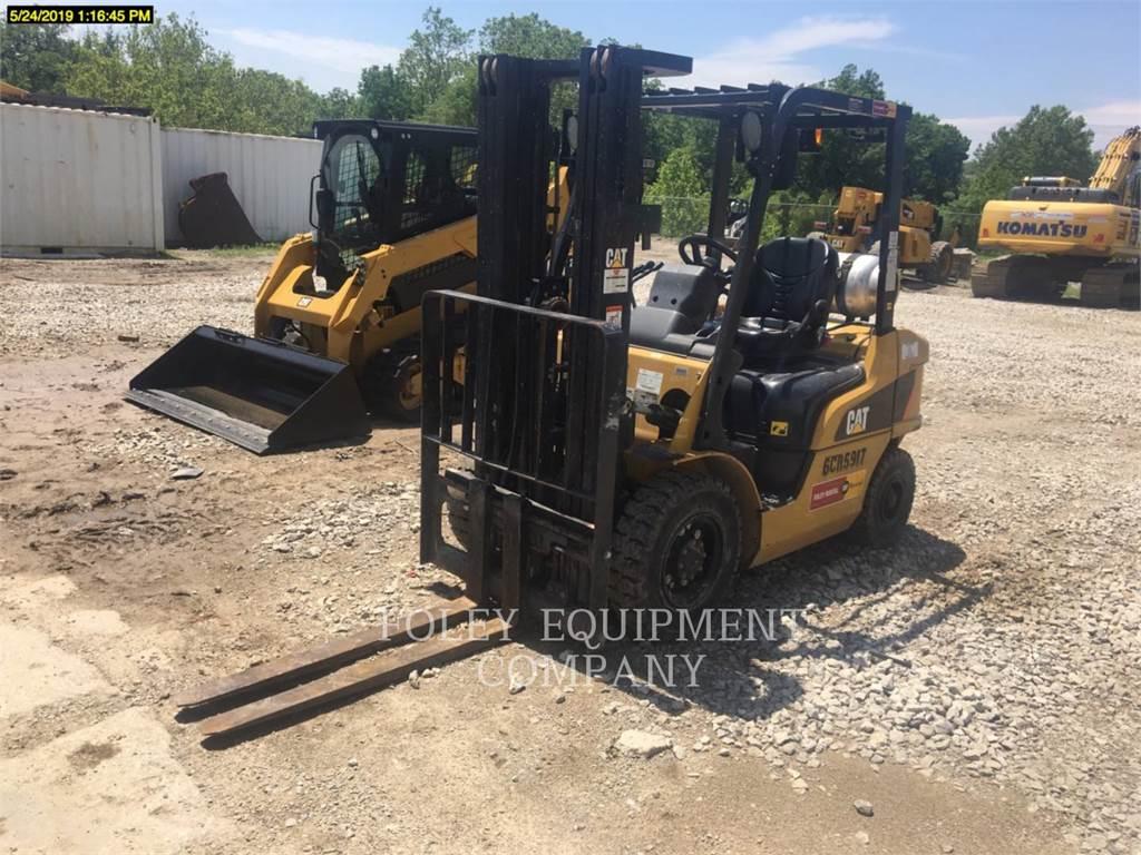 Caterpillar P5000、组装挖掘机、建筑设备