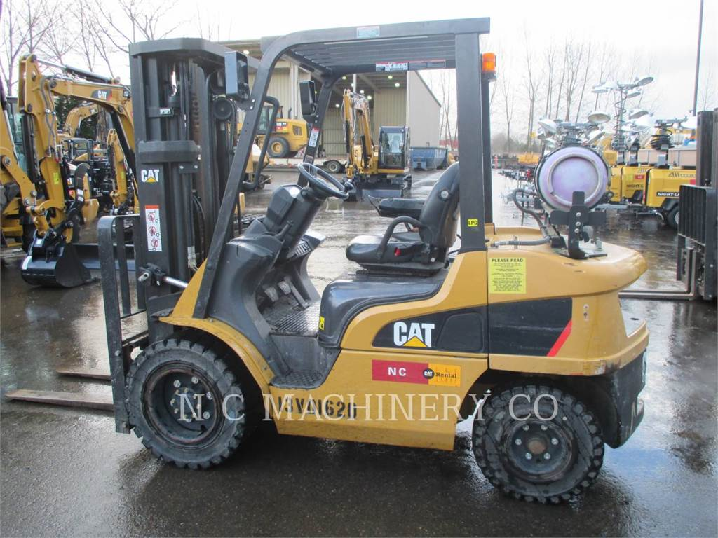 Caterpillar P6000-GLE, forklifts, Material Handling
