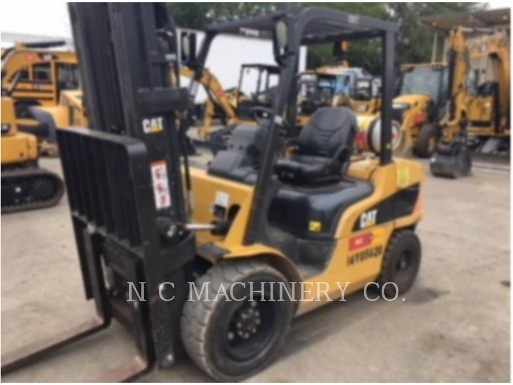 Caterpillar P6000-GLE、天然气叉车、物流运输