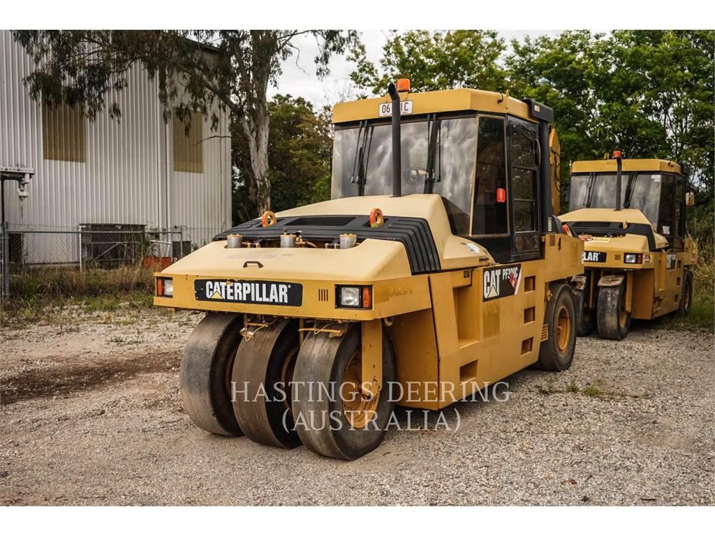 Caterpillar PF-300C, pneumatic tired compactors, Construction