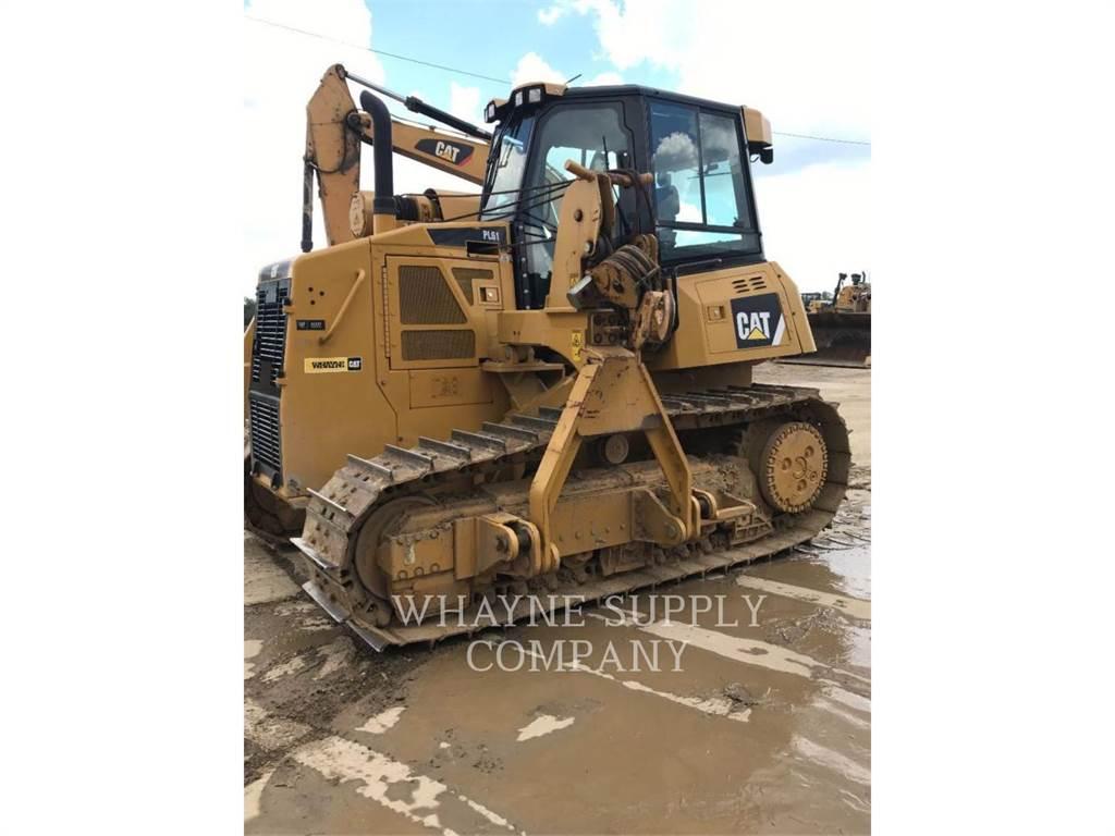 Caterpillar PL 61, dźwigi boczne do układania rur, Sprzęt budowlany