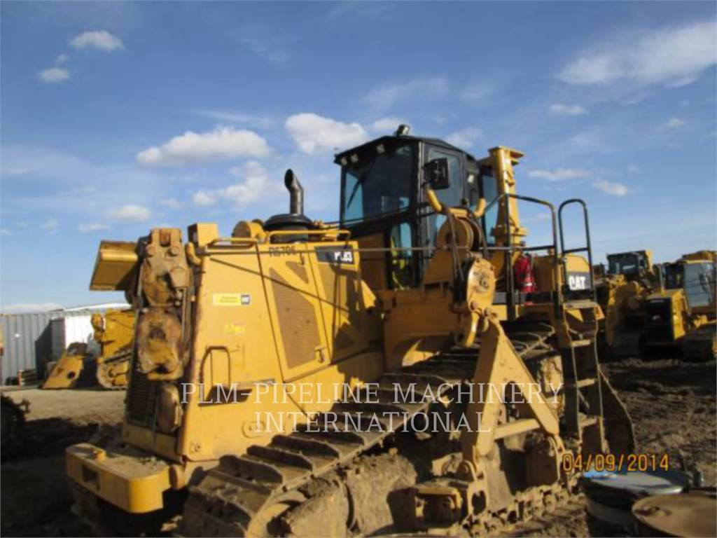 Caterpillar PL83, pipelayers, Construction