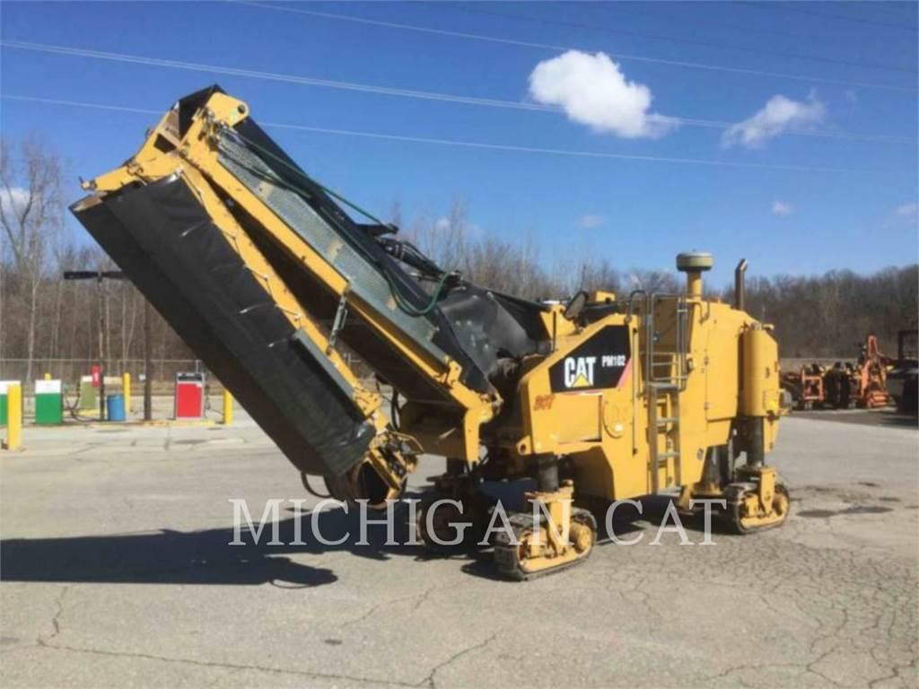 Caterpillar PM-102, Asphalt cold milling machines, Construction
