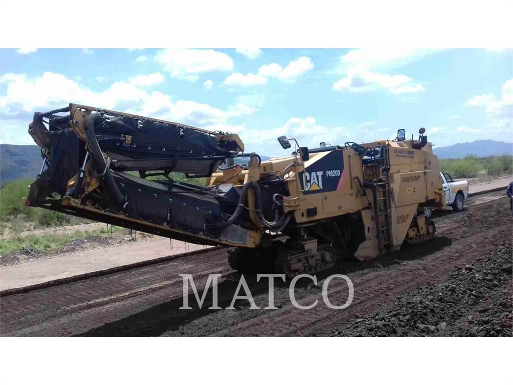 Caterpillar PM-200, Asphaltfräsen, Bau-Und Bergbauausrüstung