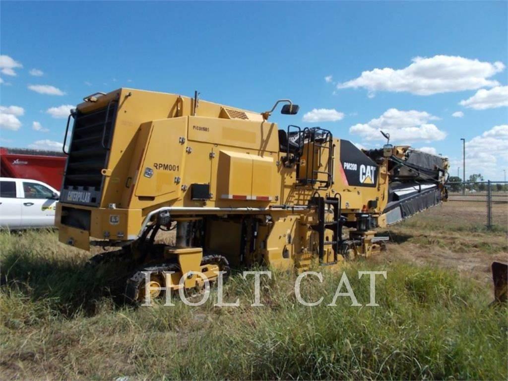 Caterpillar PM-200, Frezarki do asfaltu, Sprzęt budowlany