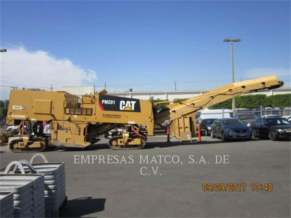 Caterpillar PM-201, Asphaltfräsen, Bau-Und Bergbauausrüstung