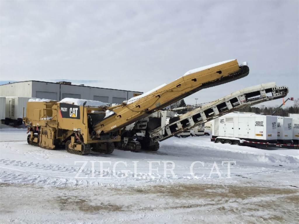 Caterpillar PM-201, Asphalt cold milling machines, Construction