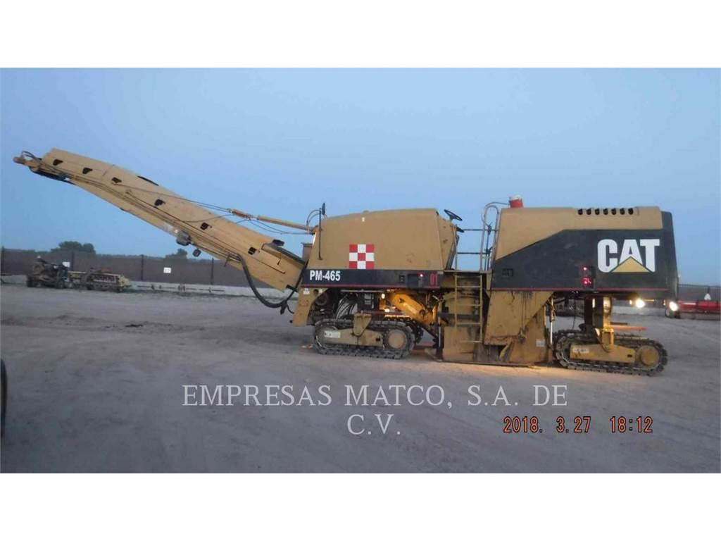 Caterpillar PM-465, Asfaltfrezen, Bouw