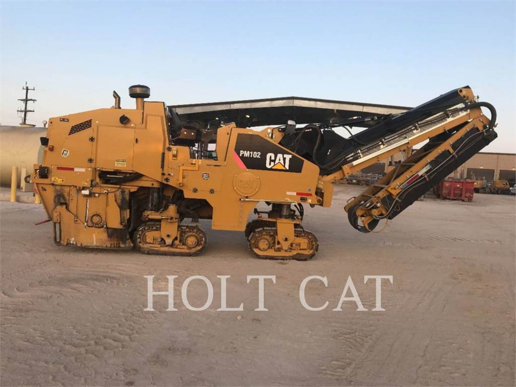 Caterpillar PM102, stabilizers / reclaimers, Construction