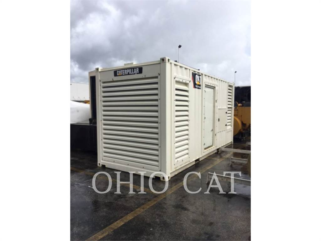 Caterpillar PM1360, Stationary Generator Sets, Construction