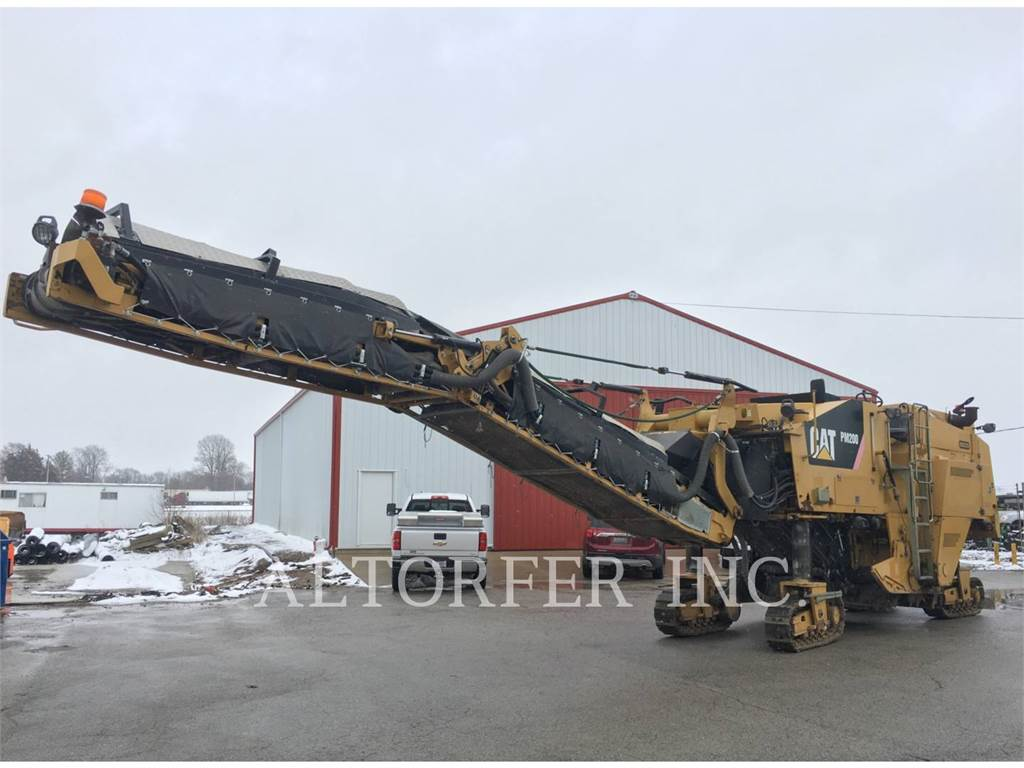 Caterpillar PM200, stabilizatory / odzyskiwacze, Sprzęt budowlany