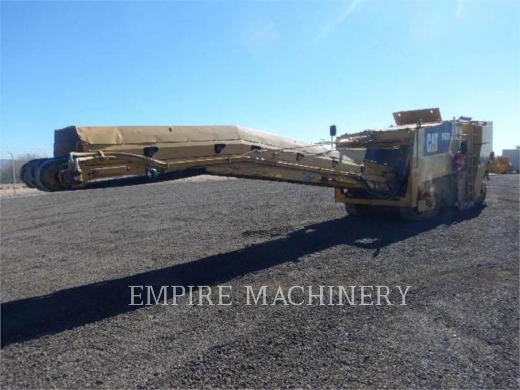 Caterpillar PM201, Asphalt pavers, Construction