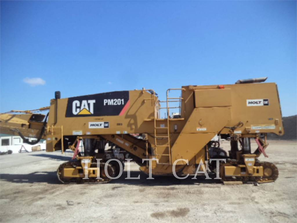 Caterpillar PM201, stabilizers / reclaimers, Construction