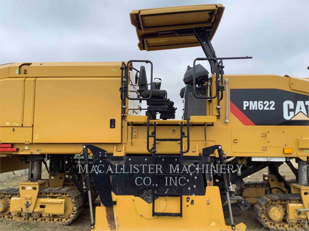 Caterpillar PM622, Asphalt cold milling machines, Construction