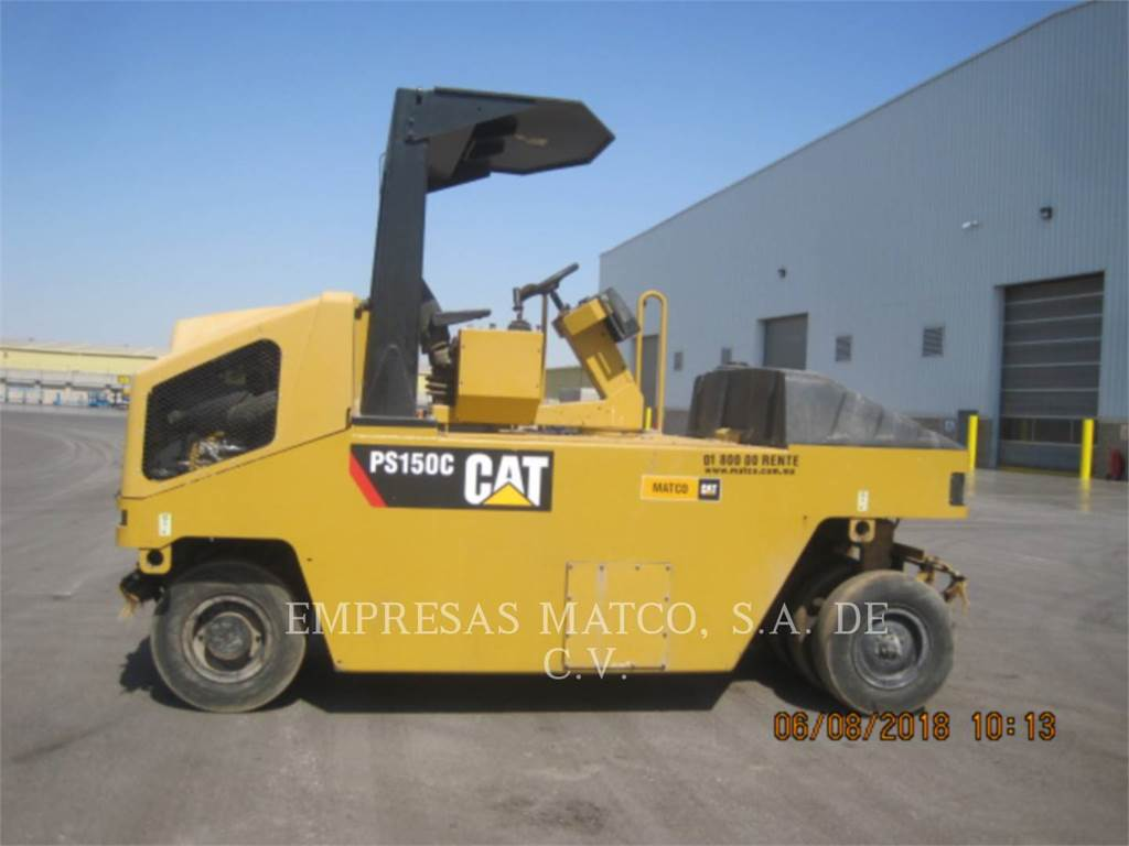Caterpillar PS-150C, pneumatic tired compactors, Construction