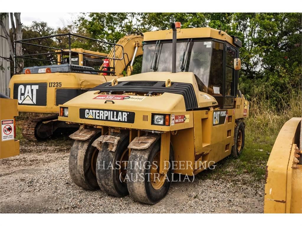Caterpillar PS-300C, pneumatic tired compactors, Construction