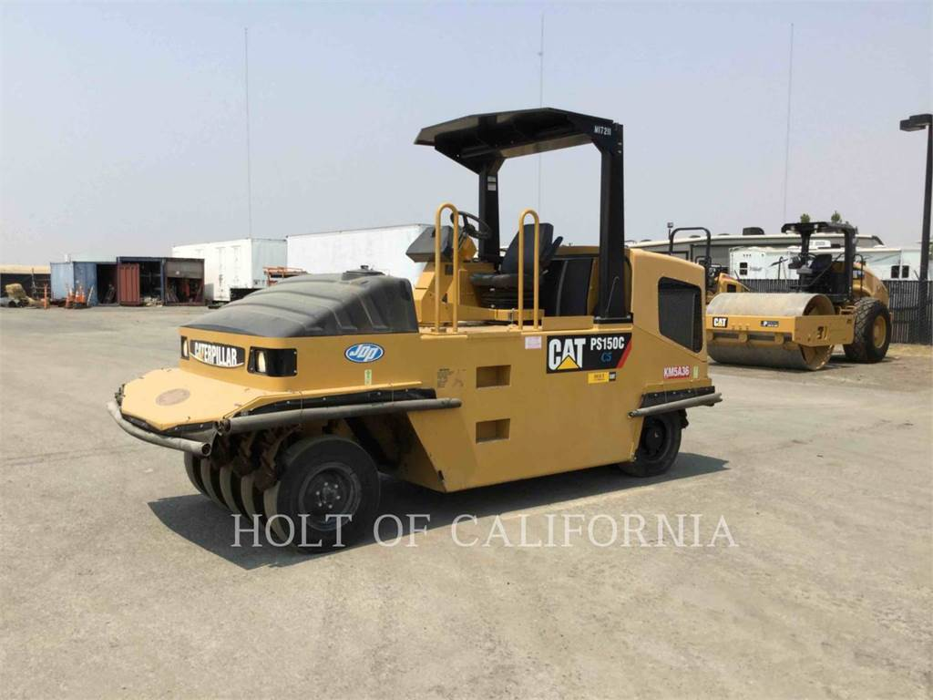 Caterpillar PS150C, Asphalt pavers, Construction