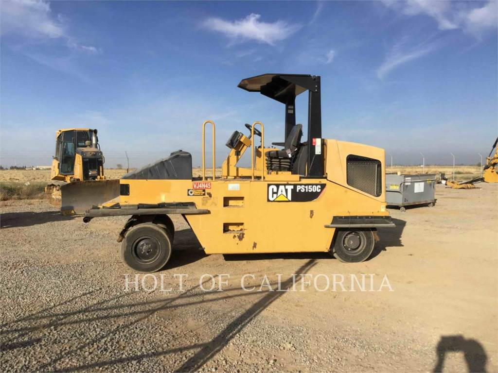 Caterpillar PS150C, compacteurs sur pneus, Équipement De Construction