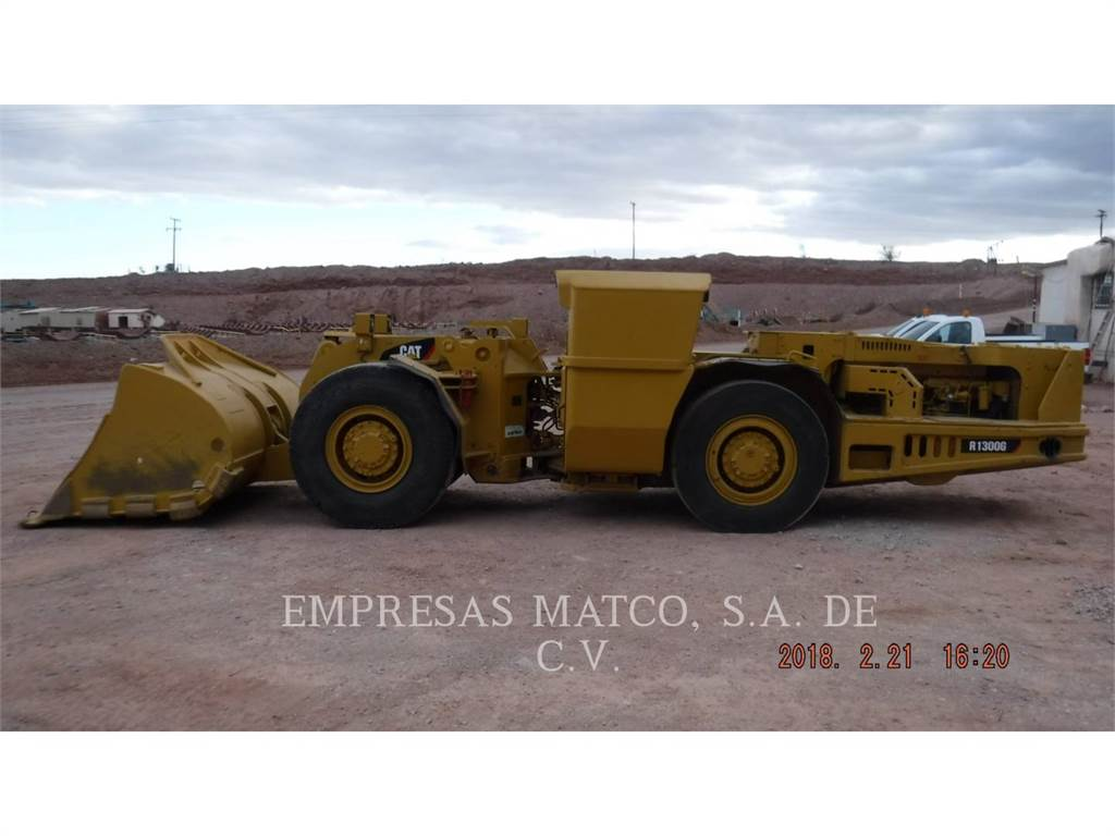 Caterpillar R 1300 G, underground mining loader, Construction