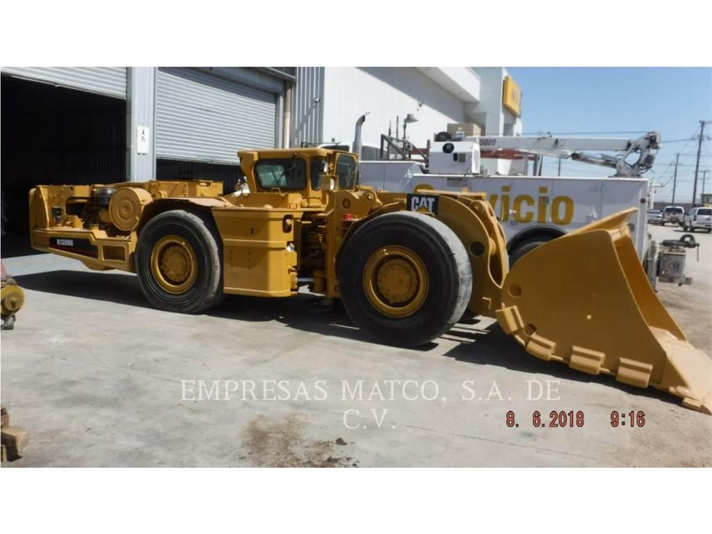 Caterpillar R 1300 G, underground mining loader, Construction