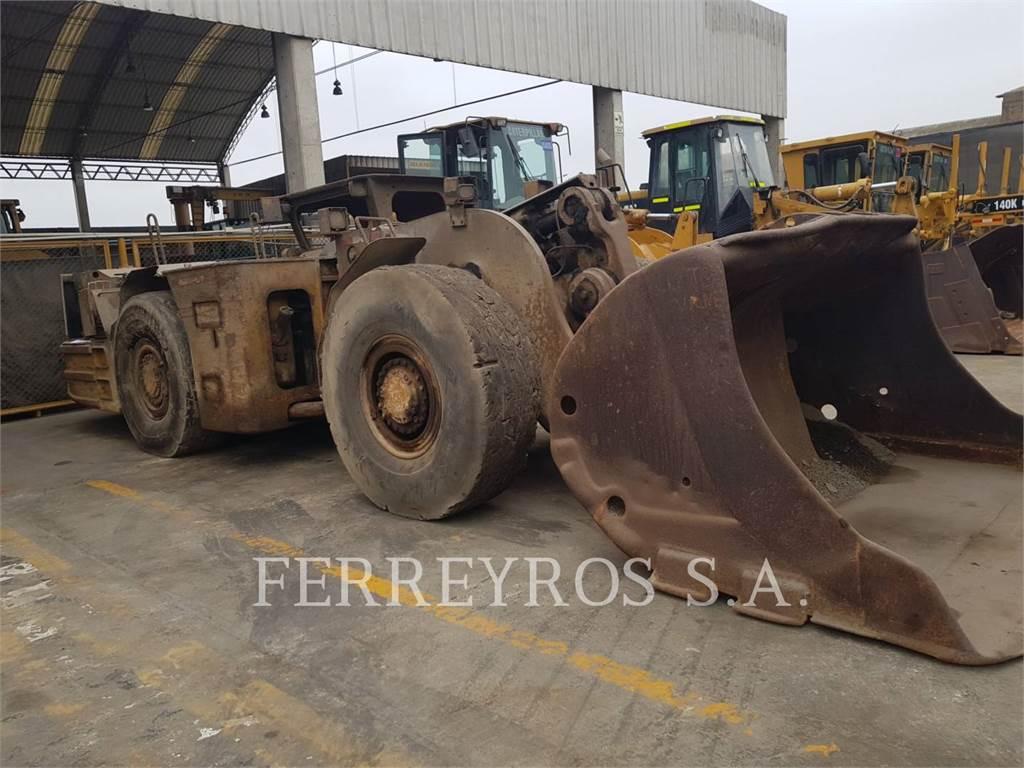 Caterpillar R 1600 G, underground mining loader, Construction