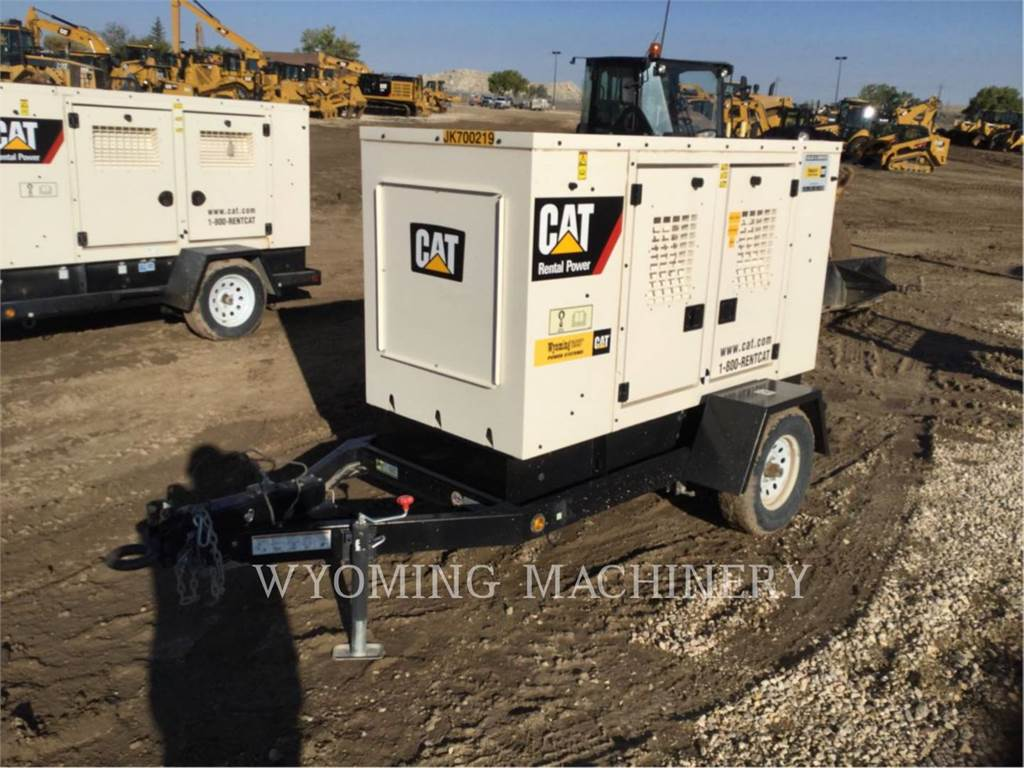 Caterpillar R-XQ35BN, Stationary Generator Sets, Construction