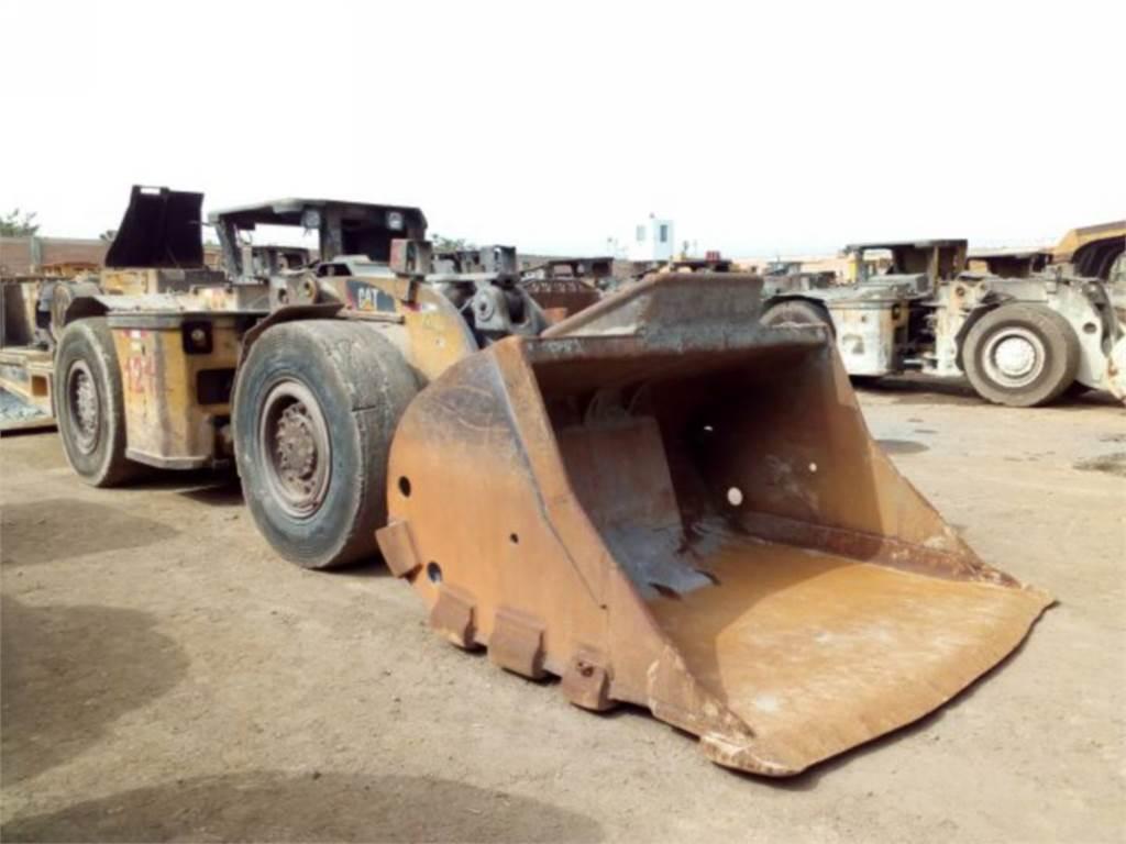 Caterpillar R1300G, cargador para minería subterránea, Construcción