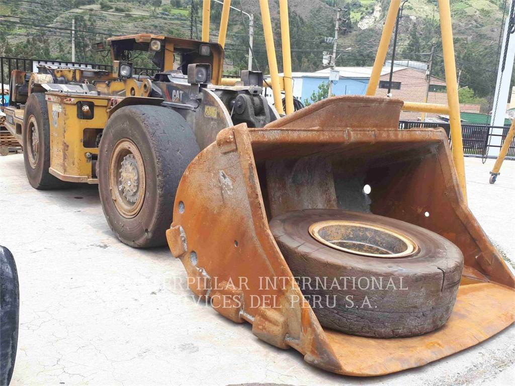 Caterpillar R1300G, underground mining loader, Construction