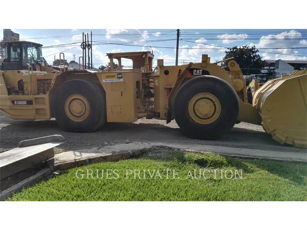 Caterpillar R1600G, underground mining loader, Construction