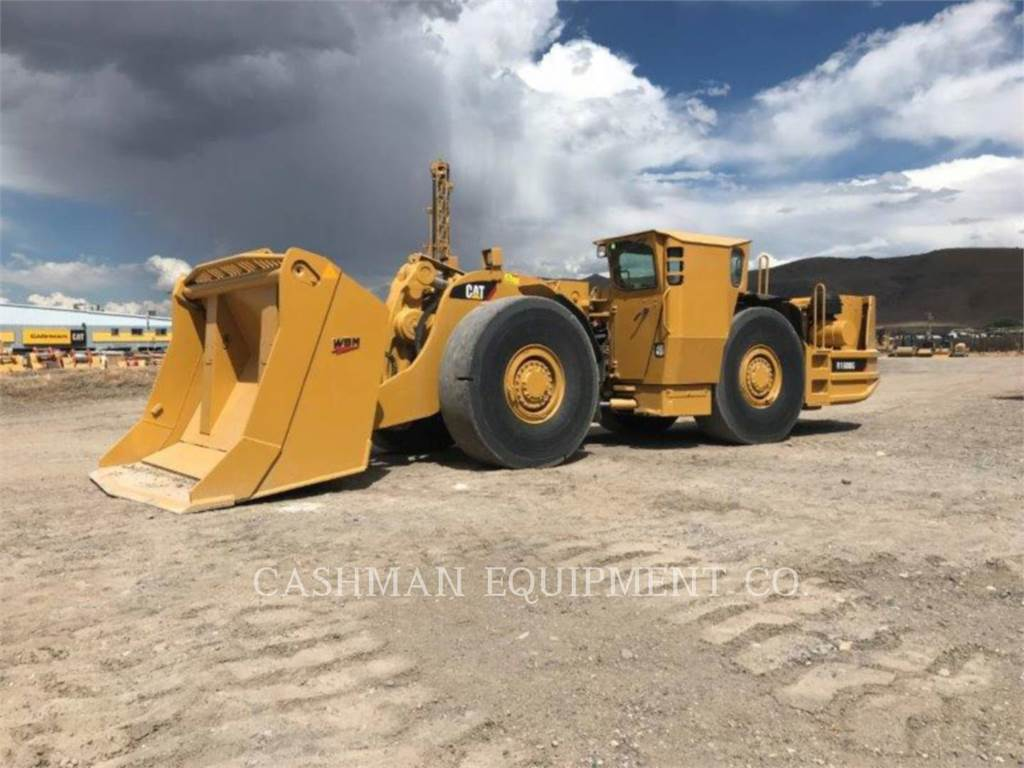 Caterpillar R1600G, underground equipment, Construction