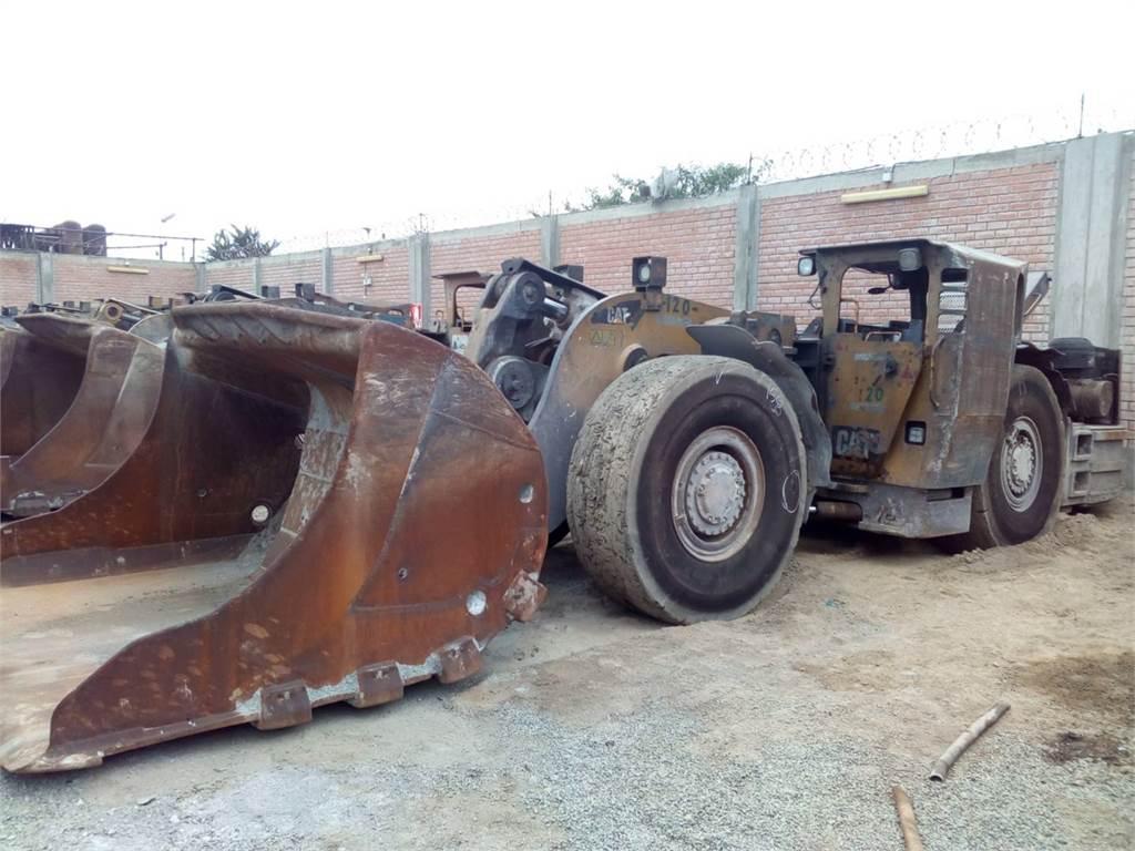 Caterpillar R1600H, cargador para minería subterránea, Construcción