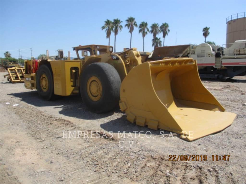 Caterpillar R1600H, underground mining loader, Construction
