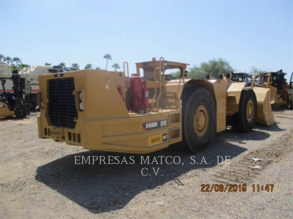 Caterpillar R1600H, mineração de mineração subterrânea, Equipamentos Construção